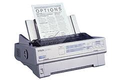 Epson Lq-870 Dot Matrix Printer P640A - Refurbished