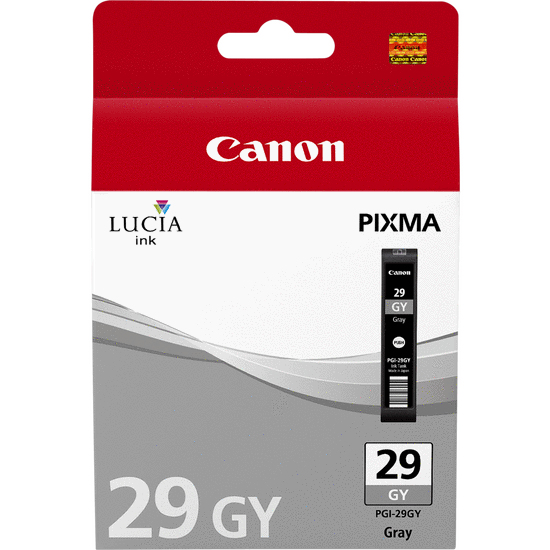 Canpgi-29g     Canon Pgi-29 Grey Ink          Photo Grey Ink Cartridge                                     - UF01