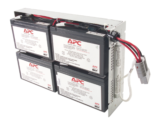 Apc - Network                    Replacable Battery                  For Su 1000rmi2u                    Rbc23
