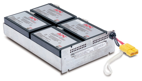 Apc - Network                    Replacable Battery                  For Su1400rmi2u                     Rbc24