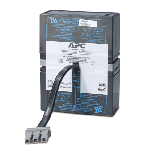 Apc - Network                    Replacement Battery                 Cartridge #33                       Rbc33