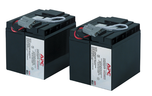 APC Replacement Battery Cartridge #55 *** Upgrade To A New UPS With APC TradeUPS And Receive Discount, Don't Take The Risk With A Battery Failure *** RBC55 - C2000