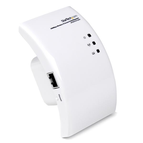 Startech.com - Consumer Io       Wireless N Access Point Repeate     & Range Extender Signal Booster  In Wfrepeat300n
