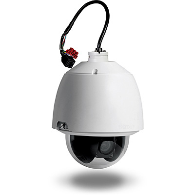 Trendnet                         Outdoor Hd Poe+                     Speed Dome Ip Camera             In Tv-ip450p
