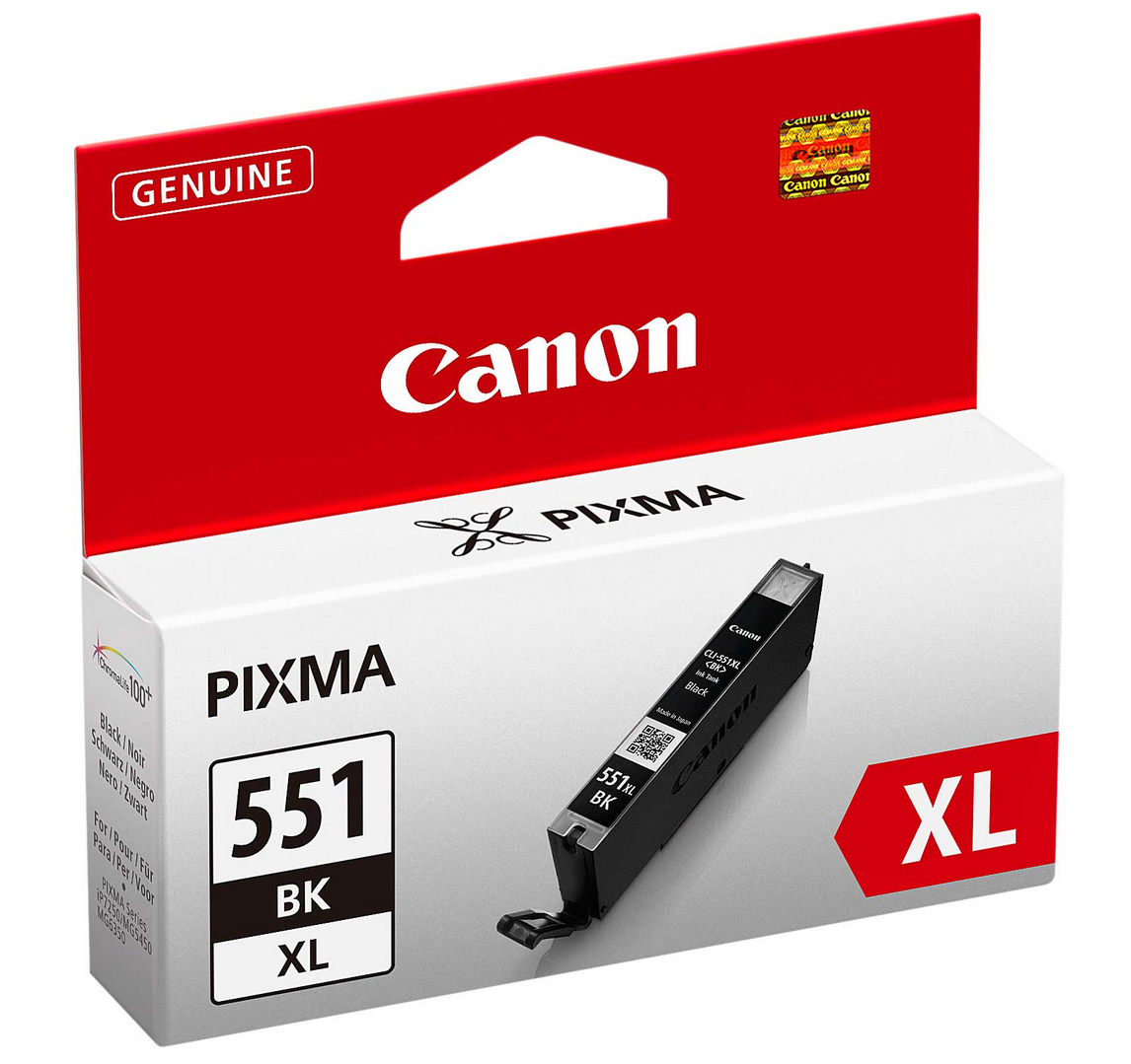 Canon - Supplies Ink Hv          Cli-551xl Bk                        Black Xl Ink Cartridge              6443b001