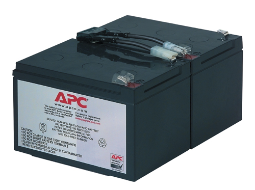 Apc - Network                    Replacable Battery                  Cartridge For Backups 1000          Rbc6