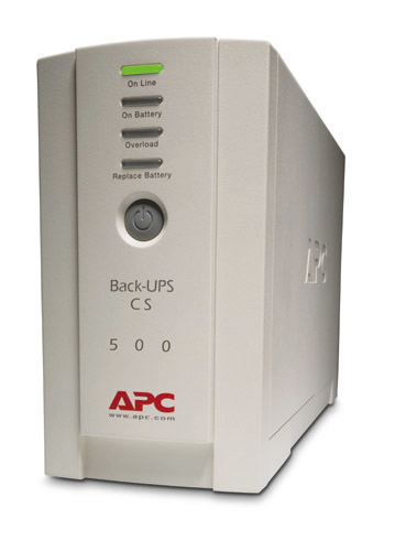 Apc - Network                    Back-ups 500cs 500va                300w                                Bk500ei