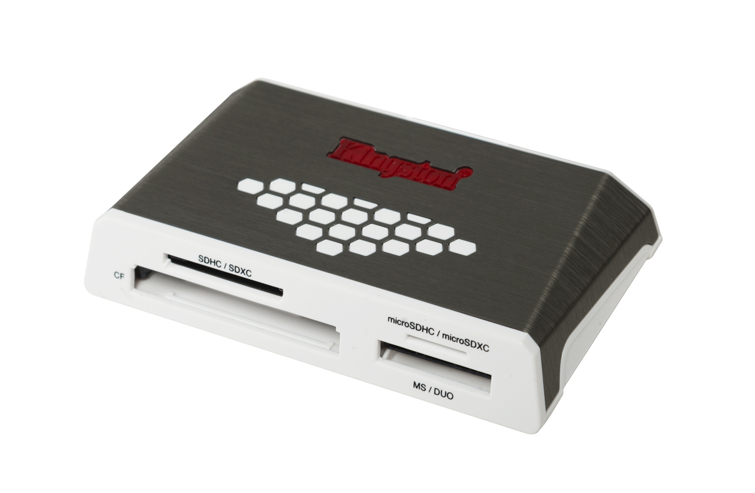 Kingston - Digital Media Product Usb 3.0 Hi-speed Media Reader                                        In Fcr-hs4