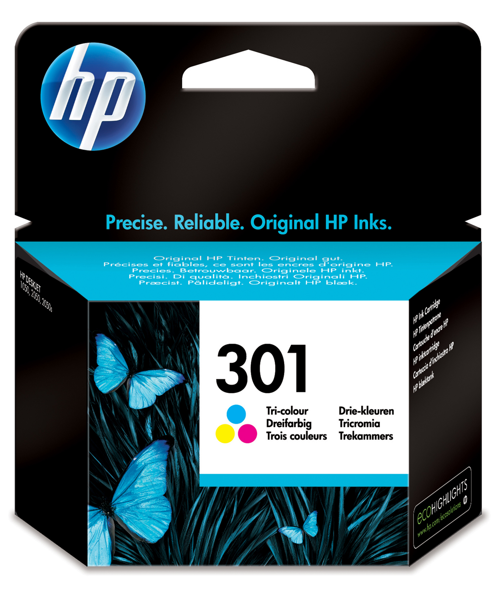 Ch562ee HP Hp No.301 Colour Ink - AD01