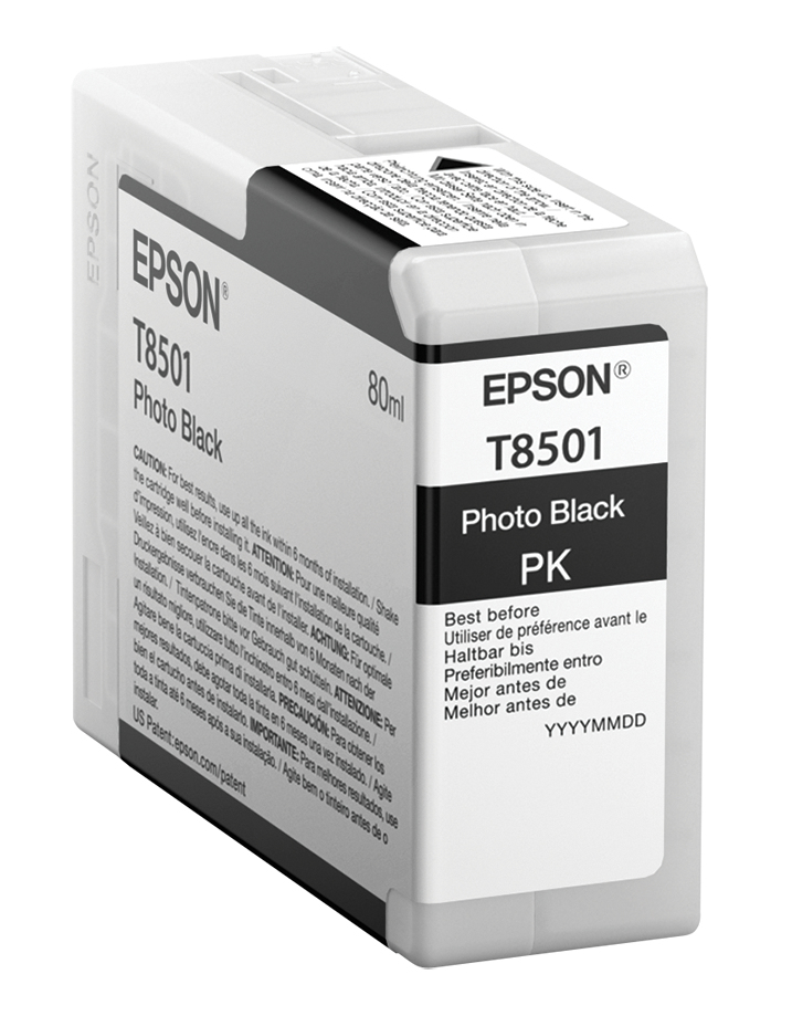 epson T8501 Photo Black Ink Cart 80ml C13t850100 - AD01