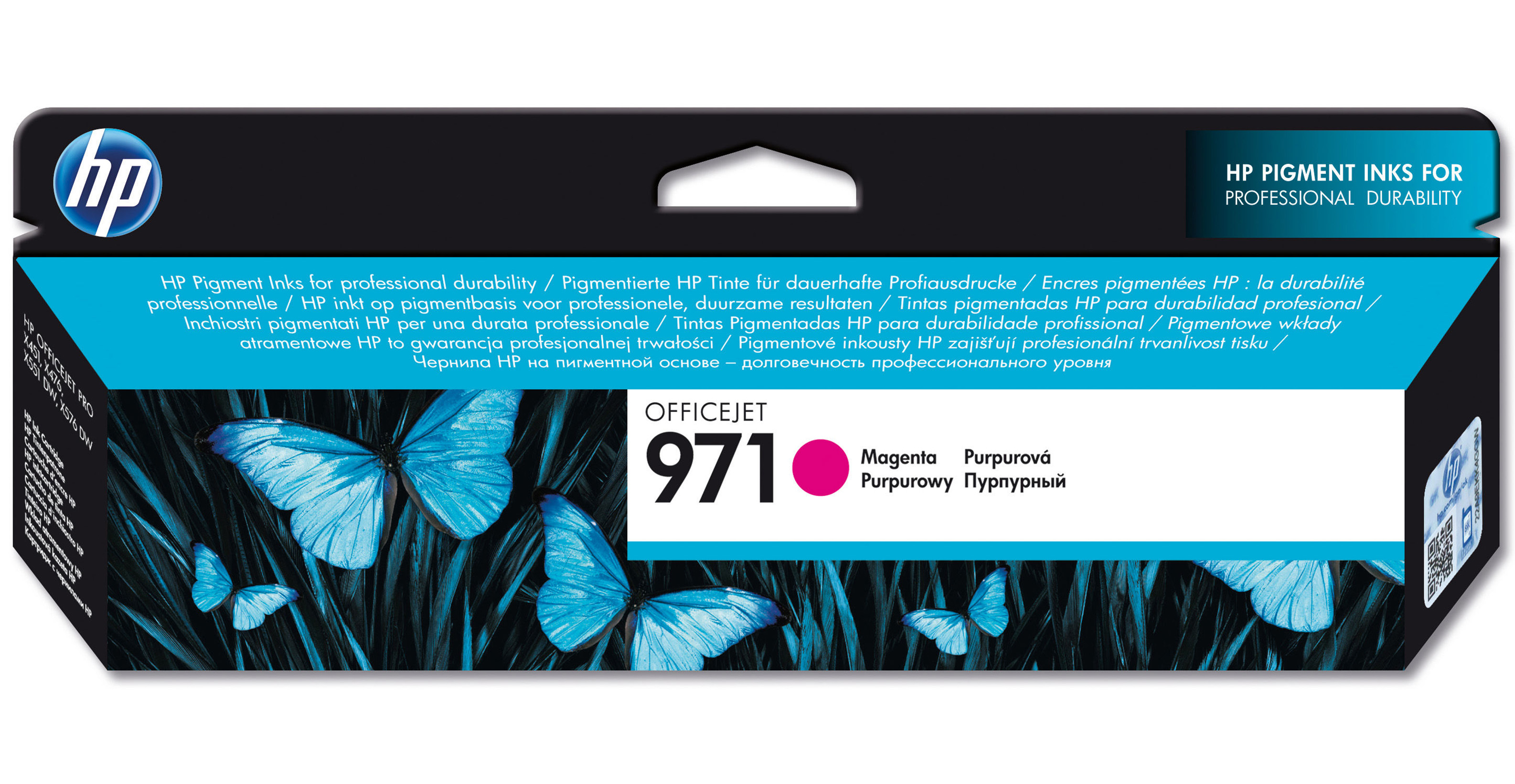 HP Hp 971 Magenta Officejet Ink Cartridge Cn623ae - AD01