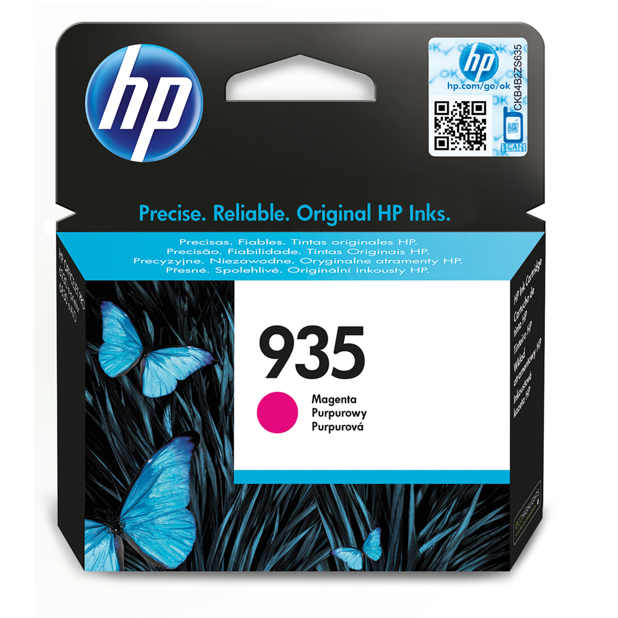 HP Hp 935 Magenta Ink Cartridge C2p21ae - AD01