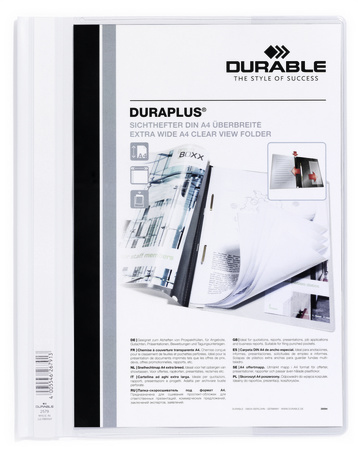 durable Durable Duraplus Report Folder Exwide A4 White 257902 (pk25) 257902 - AD01