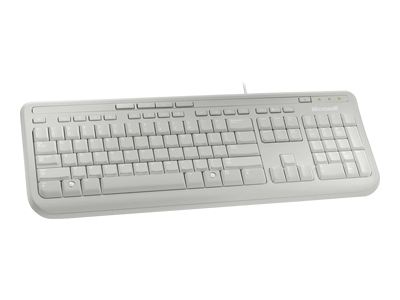 microsoft Microsoft Wired Keyboard 600 White Anb-00026 Anb-00026 - AD01