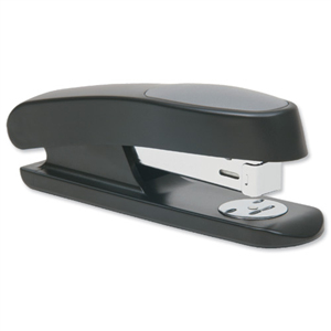 rapesco Rapesco Sting Ray Half Strip Stapler (black) Rr7260b3 - AD01