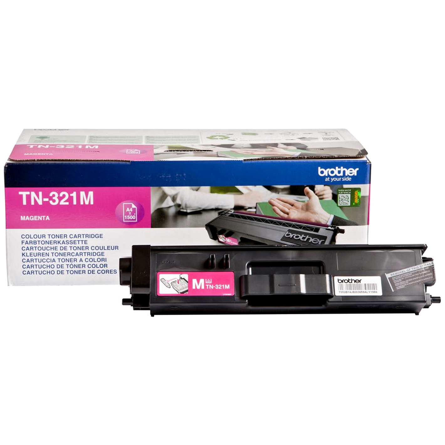 Brotn321m      Brother Tn321 Magenta Toner    1500 Pages                                                   - UF01