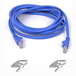 Belkin Cat5e Patch Cable Blue 1m A3l791b01m-blus - WC01