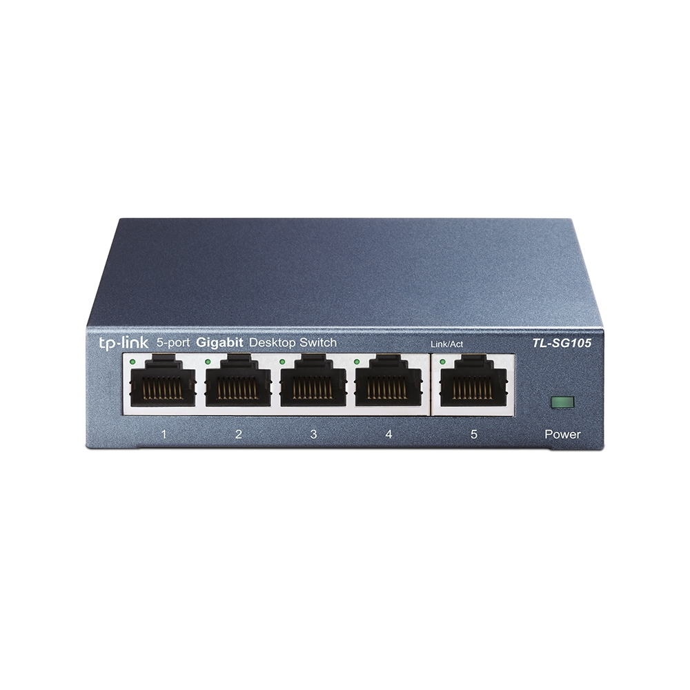 TP-Link 5 port Steel Gigabit Switch TL-SG105 - CMS01