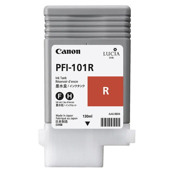 CANON PFI-101R - Red Ink Tank - 130ml  0889b001aa