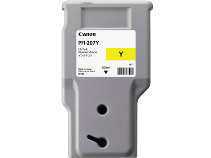 CANON PFI-207Y - Yellow Ink Tank - 300ml 8792b001aa