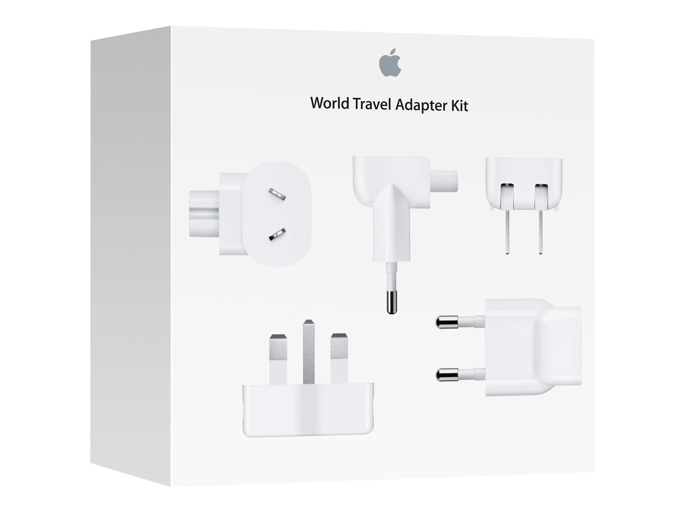 Apple Travel Adapter Kit Ac Plugs Md837zm/a - WC01