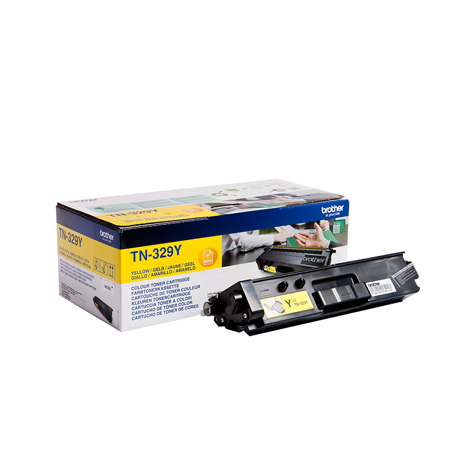 Tn329y Yellow Toner Tn329y - WC01