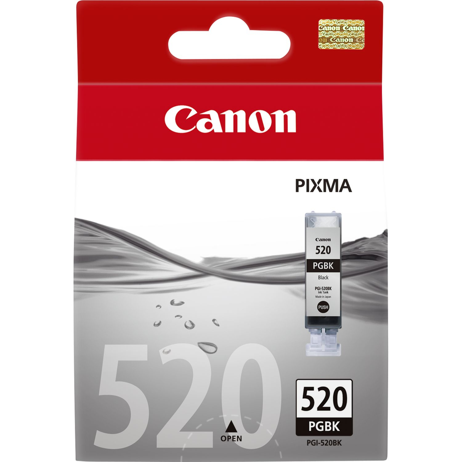 Canpgi-520bk   Canon Pgi-520 Black Ink        Ip3600 Ip4600 Mp540 Mp620                                    - UF01
