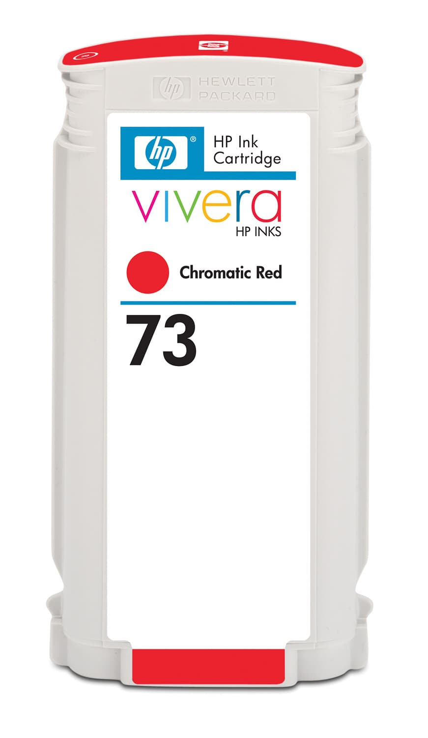 HP No. 73 Ink Cartridge Chromatic Red - 130ml  Cd951a