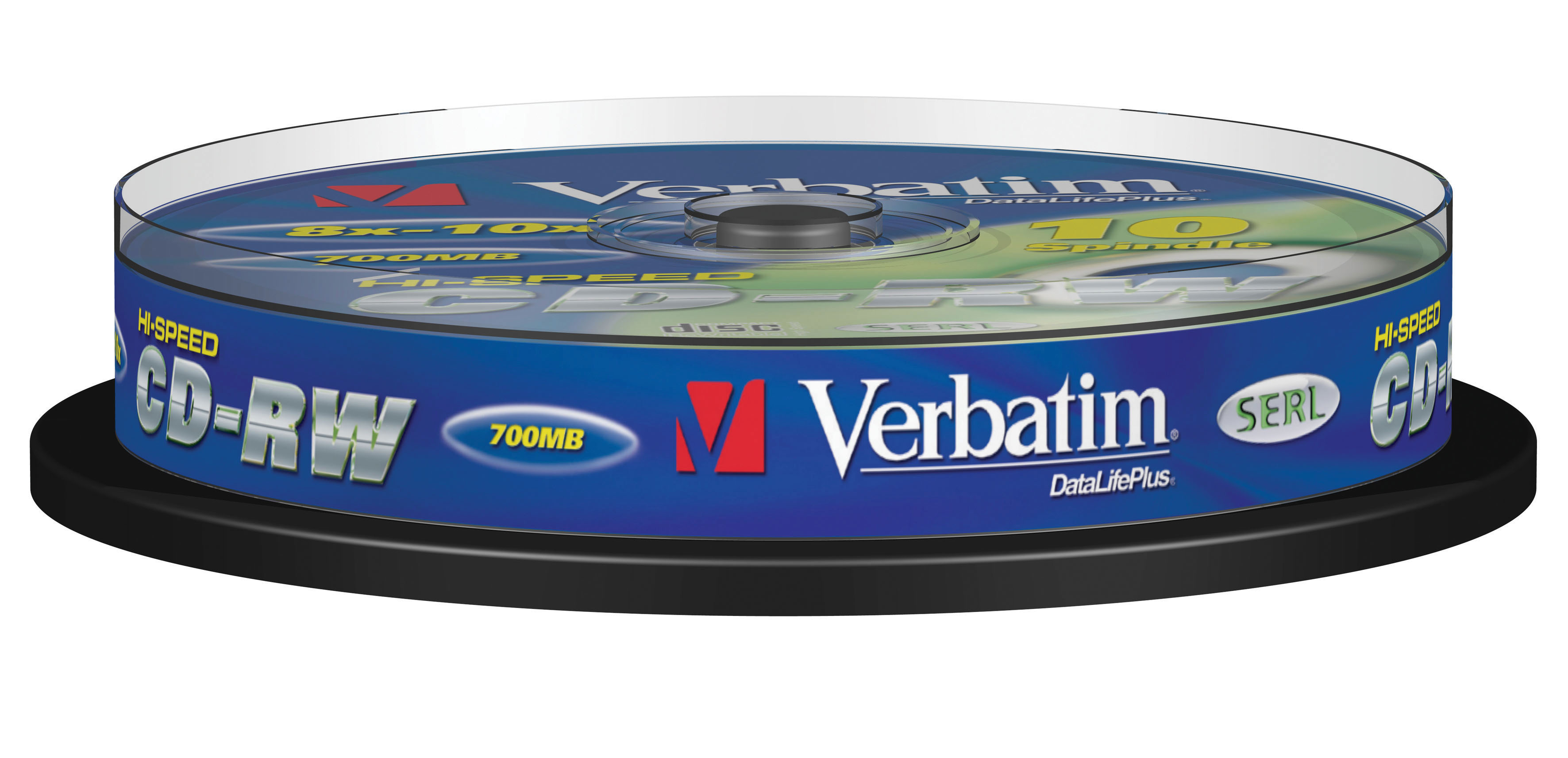 Verbatim CD-RW 12x 10pk Spindle 43480 - CMS01