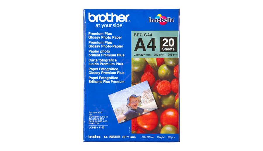 Brother A4 Glossy Paper Bp71ga4 - WC01