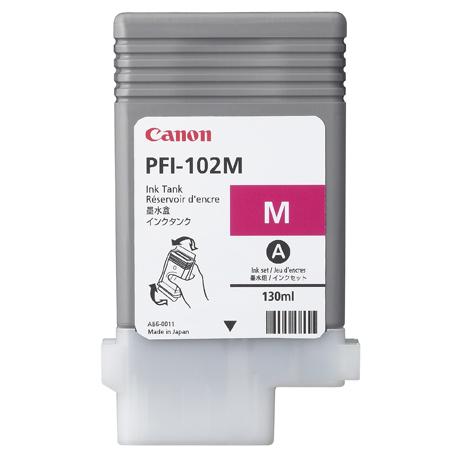 CANON PFI-102M - Magenta Ink Tank - 130ml  0897b001aa