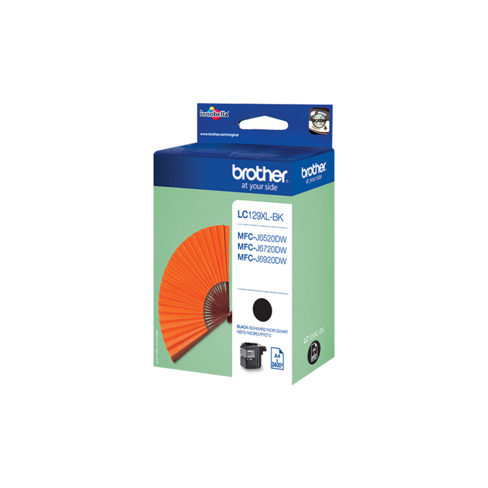 Brolc129xlbk   Brother Lc129xl Black          Ink Cartridge                                                - UF01