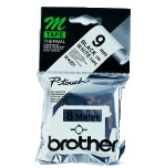 Bromk221       Brother Mk221bz Black On White 9mm Plastic Tapes                                            - UF01