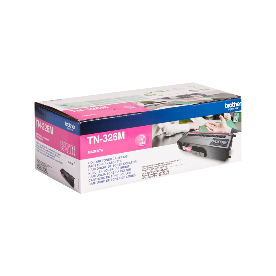 Brotn326m      Brother Tn326 Magenta Toner    3500 Pages                                                   - UF01