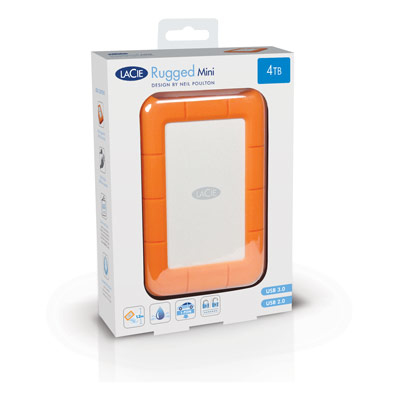 Seagate - Lacie External Mobile  2tb Rugged Mini Usb3.0              2tb/usb3.0                       In Lac9000298