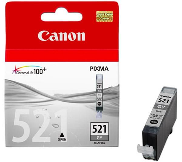 Cancli-521gy   Canon Cli-521 Grey Ink         Colour Ink                                                   - UF01