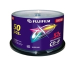 Fu47238        Fuji Cd-r Spindle              50 Pack 700mb 52x                                            - UF01