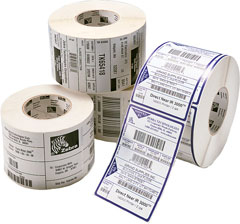 Zebra - Supplies Zipship Labels  Z-slct 2000t 51x32mm                4240 Lbl/roll C-76mm Box Of 10      880118-031