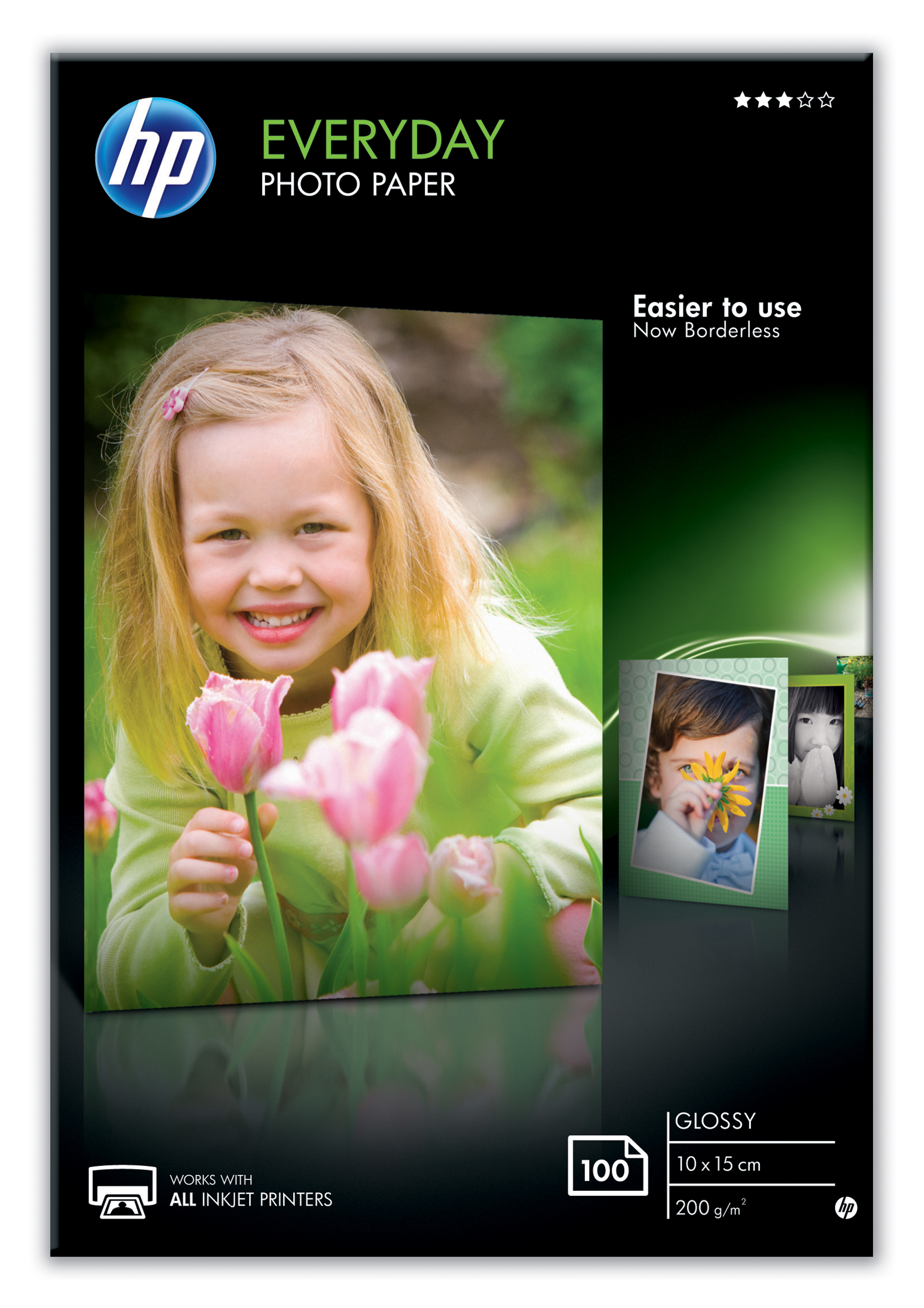 Hpcr757a       Hp Everyday Photo Paper 10x15  Gloss 100 Sheet                                              - UF01