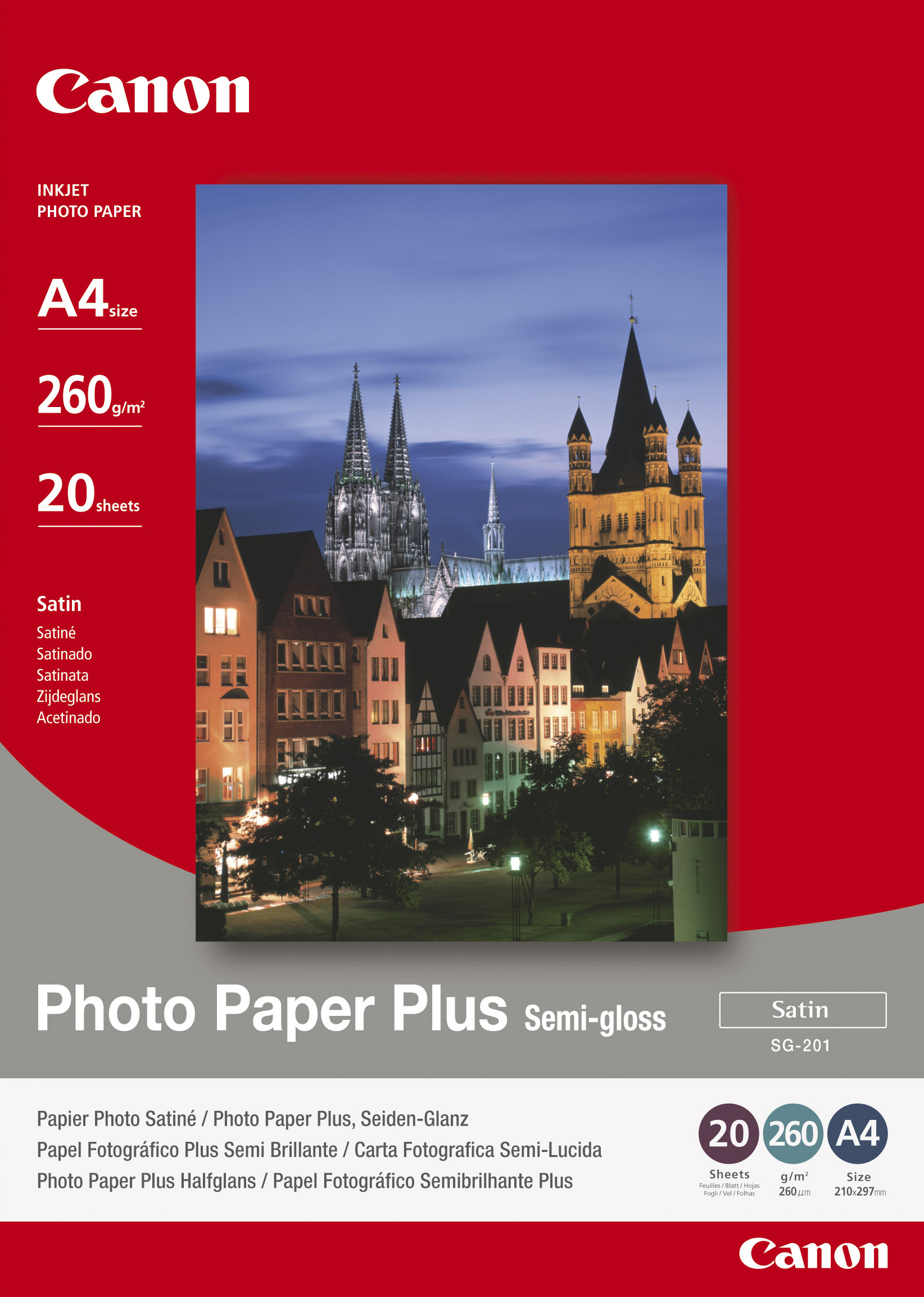 Can31014       Canon Sg-201 A4 20sheets       Bj Media                                                     - UF01
