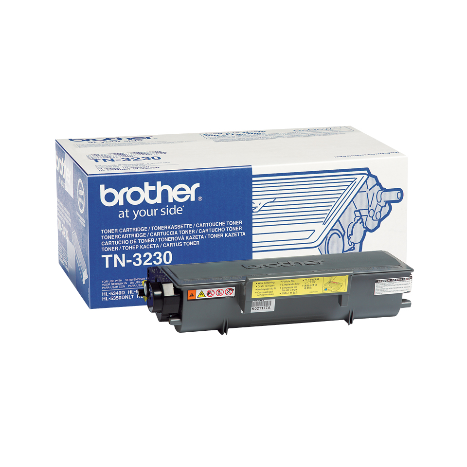 Brotn3230      Brother Tn3230 Black Toner     3000 Pages @ 5% Coverage                                     - UF01