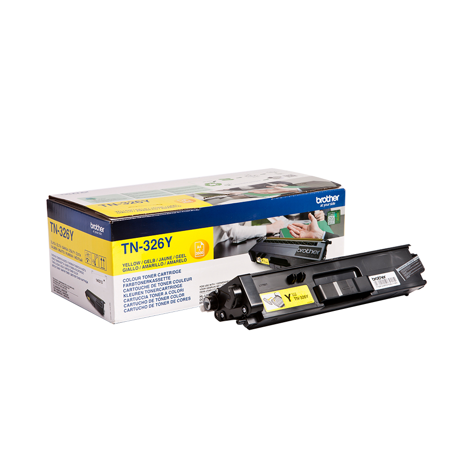 Brotn326y      Brother Tn326 Yellow Toner     3500 Pages                                                   - UF01