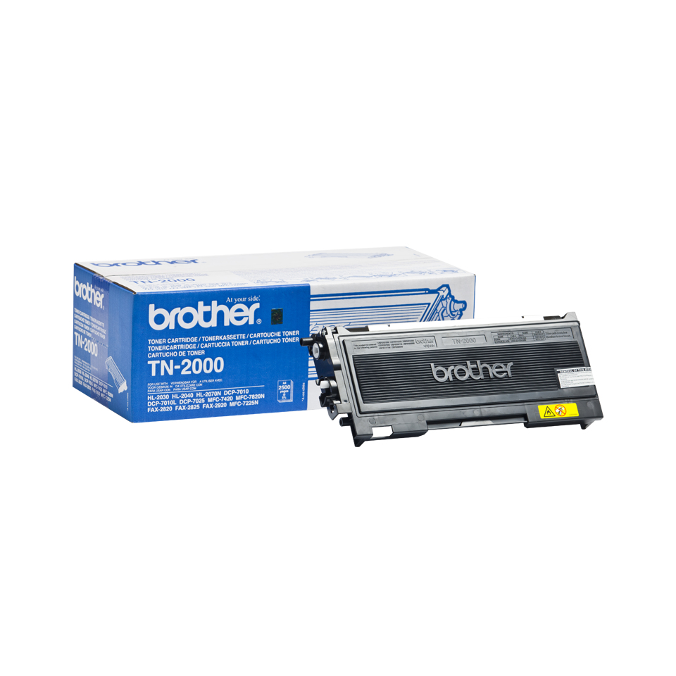 Bro22062       Brother Tn2000 Black Toner     2500 A4 Pages At 5%                                          - UF01
