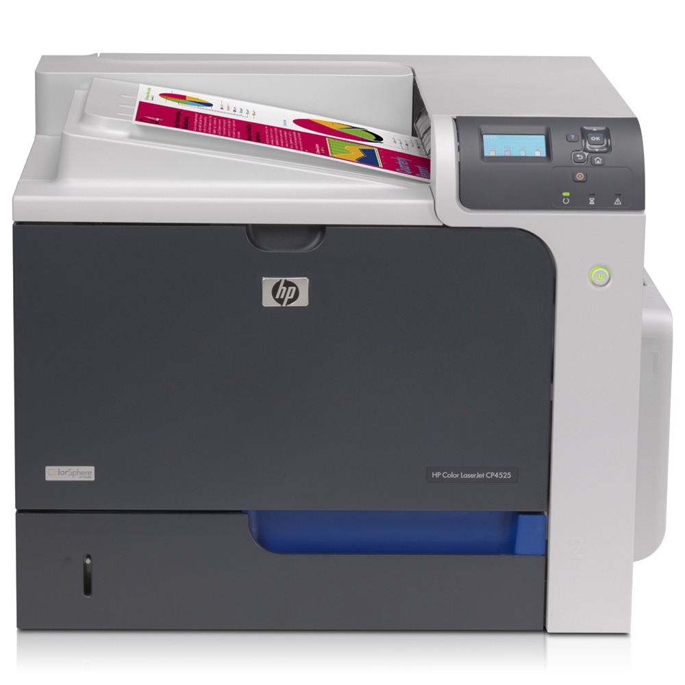 CC493A HP Colour LaserJet CP4525n A4 Printer - Refurbished