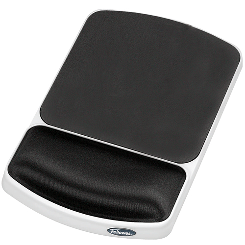 Fellowes Prem Gel Wrist Rest Graphit 91741 - WC01