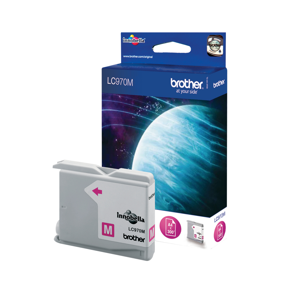 Brother Lc970m Magenta Cartridge Lc970m - WC01