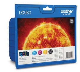Brother Lc980 Quad Pack Lc980valbp - WC01