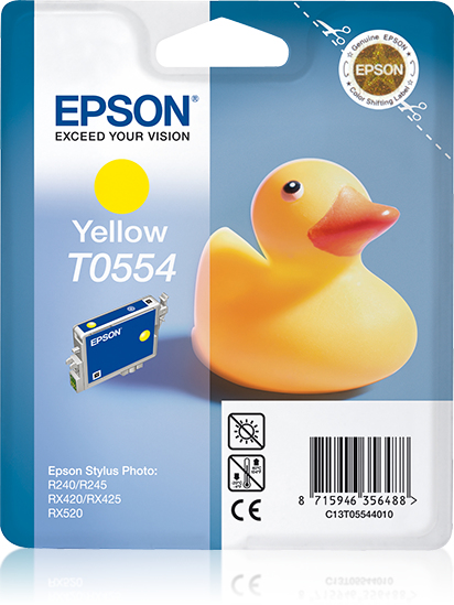 Epson R420-r425 Yellow Ink Cart C13t05544010 - WC01