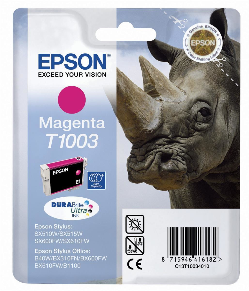 Epson T1003 Magenta Ink Cartridge C13t10034010 - WC01