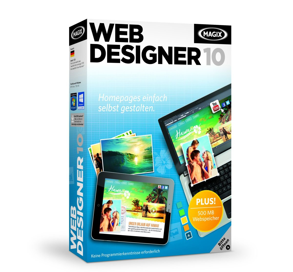 MAGIX Web Designer 10 - Electronic Software Download 779146 - C2000